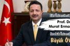 Siirt Üniversitesi Rektörü Prof. Dr. Murat Erman'dan Karabük Üniversitesi'ne Büyük Övgü