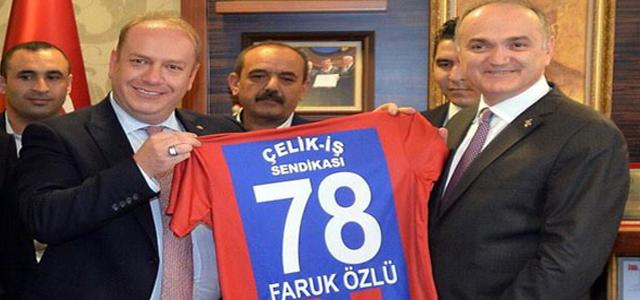 Özcan, sanayicinin Cansuyu Kredisi ile ilgili taleplerini Bakan Özlü'ye iletti