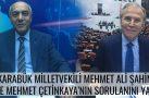 KARABÜK MİLLETVEKİLİ MEHMET ALİ ŞAHİN  BRTV'DE