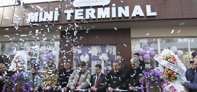 Mini Terminal, Güven Taksi ve Atatürk Mahallesi Muhtarlık Ofisi Törenle Açıldı