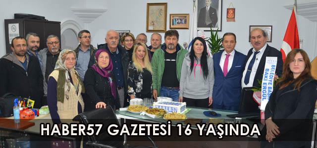 HABER57 GAZETESİ 16 YAŞINDA