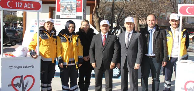 Başkan Aksoy da Yaşama Yol Ver Dedi