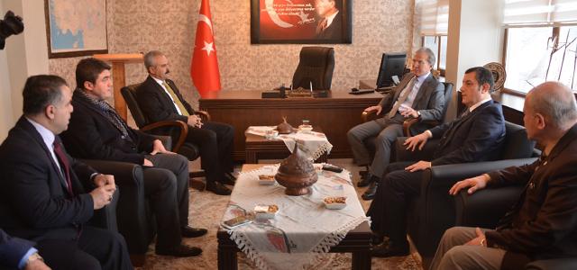 Şahin Yatırımları ve Projeleri Değerlendirmek İçin Safranbolu'daydı