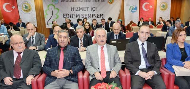Zonguldak Orman Bölge Müdürlüğü 2017 yılı Hizmet İçi Eğitim Semineri Sona Erdi