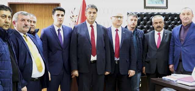 Yenice Kaymakamı ve Yenice Belediye Başkanı'ndan Rektör Polat'a Ziyaret