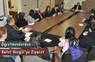 Stajyer Öğretmenlerden Başkan Vergili'ye Ziyaret