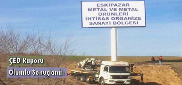 CEYLAN Karabük Eskipazar Metal ve Metal Ürünleri İhtisas Organize Sanayi Bölgesi'ne hız verdi.