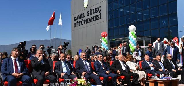Kamil Güleç Kütüphanesi açıldı