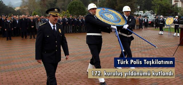 Türk Polis Teşkilatının 172. Yılı Kutlandı