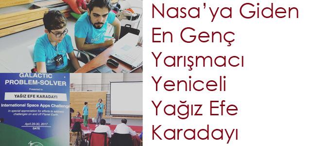 Nasa'ya Giden En Genç Yarışmacı Yeniceli Yağız Efe Karadayı
