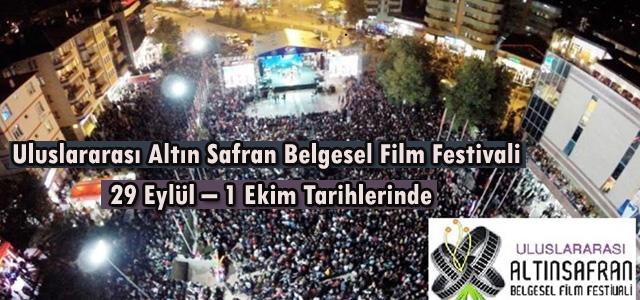 Uluslararası Altın Safran Belgesel Film Festivali 29 Eylül – 1 Ekim Tarihlerinde