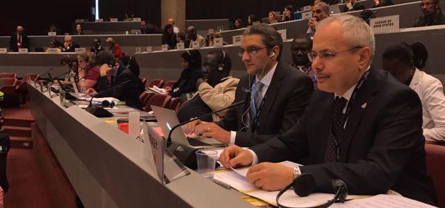 CEYLAN Cenevre de BMBasel Roterdam Stokholm Sözleşmeleri Taraflar Konferanslarına katıldı
