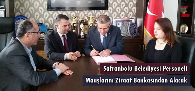 Belediye Personeli Maaşlarını Ziraat Bankasından Alacak