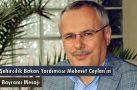 Çevre ve Şehircilik Bakan Yardımcısı Mehmet Ceylan'ın Ramazan Bayramı Mesajı