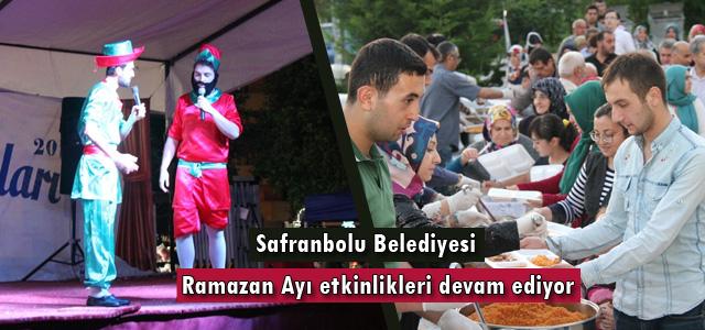 Safranbolu Belediyesi Ramazan Ayı etkinlikleri devam ediyor