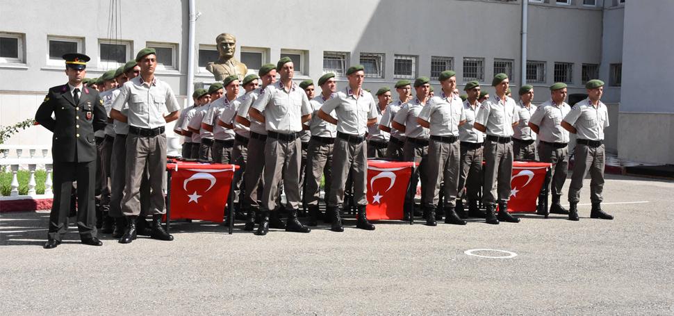 Sinop Jandarma'da And İçme Töreni Yapıldı