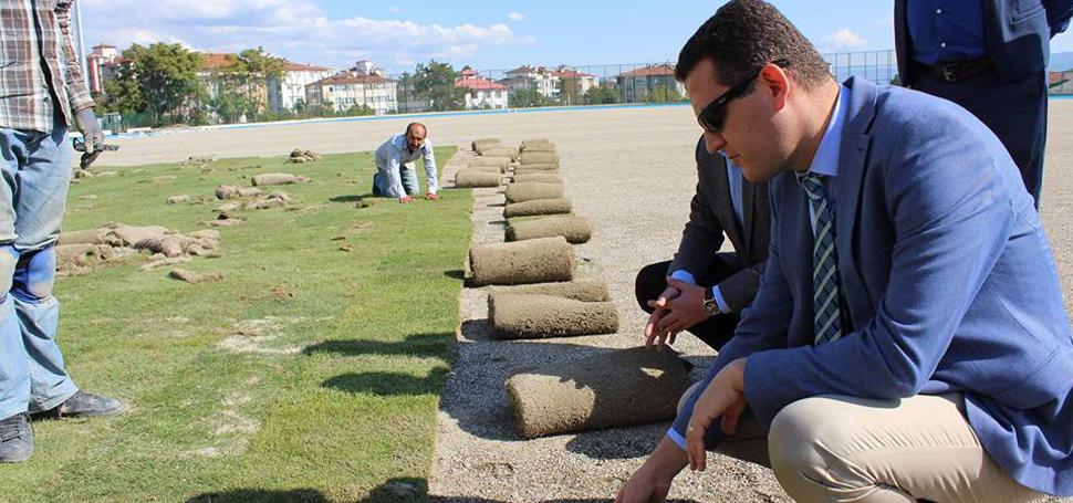 Ürkmezer Stad Yenileme Çalışmalarını Yerinde İnceledi