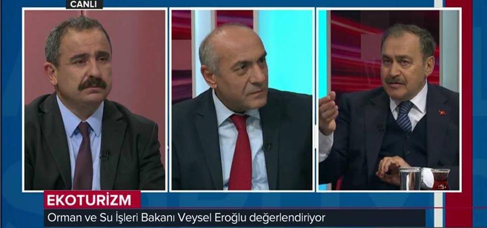 """""""Anadolu Soruyor"""" Programında Bakan Eroğlu soruları yanıtladı"""