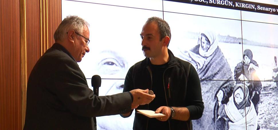 Mehmet Kütükçüoğlu'na ödül