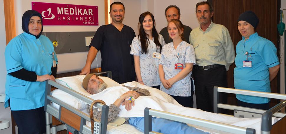 92 yaşındaki Karaağaç, hayata yeniden tutundu