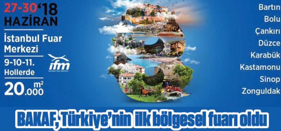 BAKAF, TÜRKİYE'NİN İLK BÖLGESEL FUARI