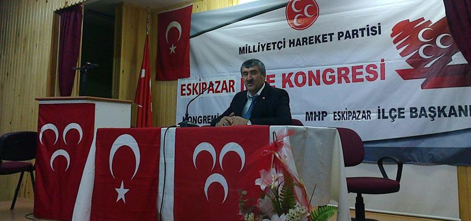 Eskipazar MHP'ye yeni yönetim atandı