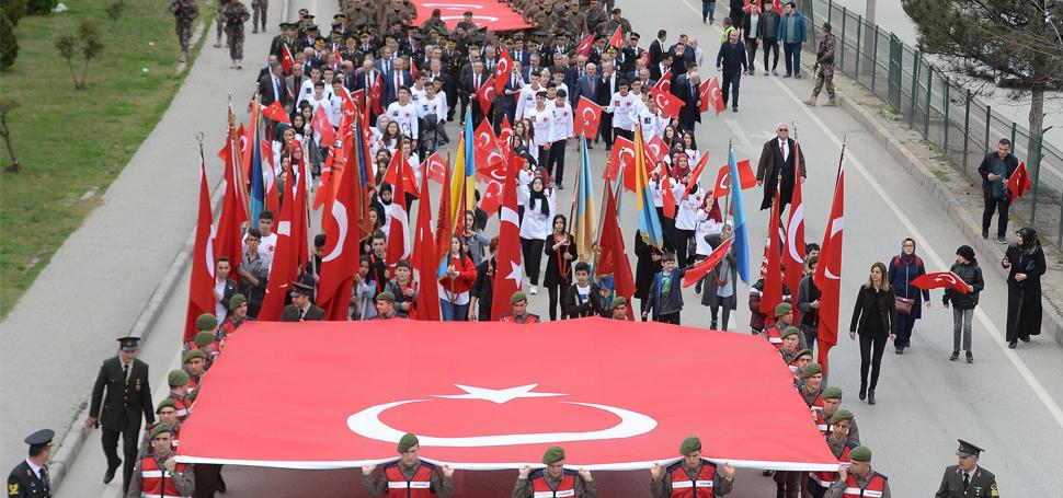 18 Mart Çanakkale Zaferi'nin 103. Yıl Dönümü