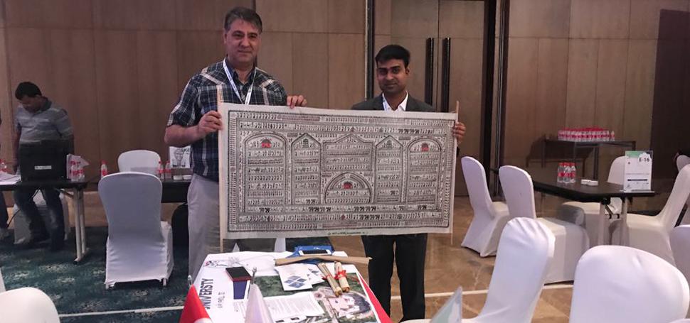 KBÜ Heyeti, Hindistan Yükseköğretim Fuarında