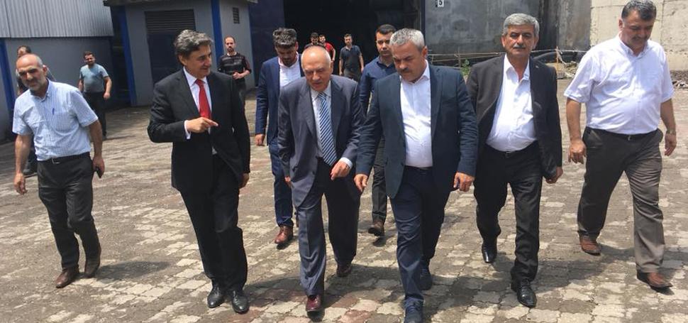 Ak Parti Milletvekili Adaylarının Çağ Çelik ziyareti
