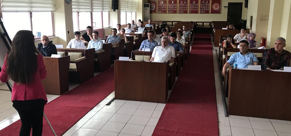 Karabük'te gazetecilere eğitim