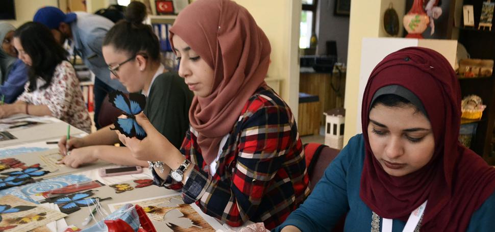 Türk sanatlarına yabancı öğrencilerin eli değiyor