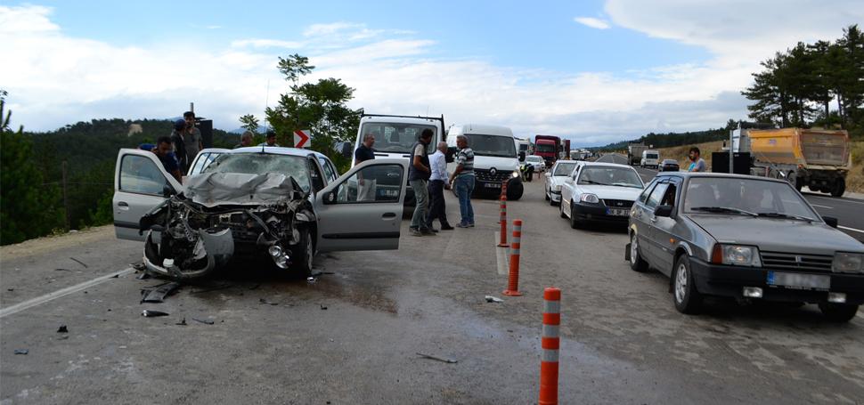 Safranbolu'da Trafik Kazası 1 Ölü 1 Yaralı