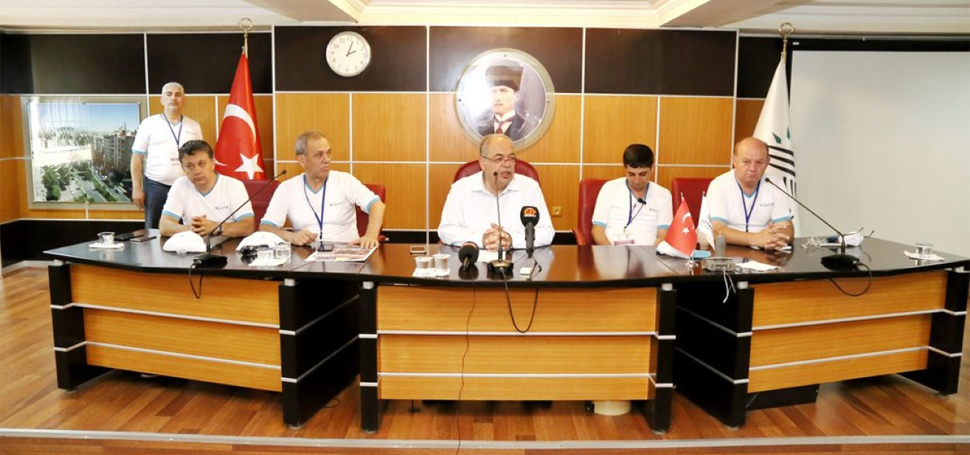 Gazeteciler Adıyaman'da Belediye Başkanını Ziyaret Etti