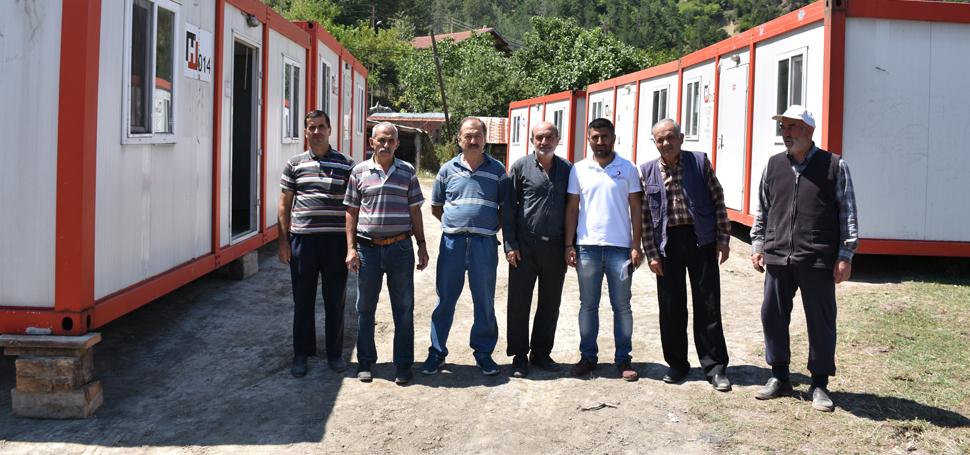Türk Kızılayı'ndan Yangın Zedelere Yardım