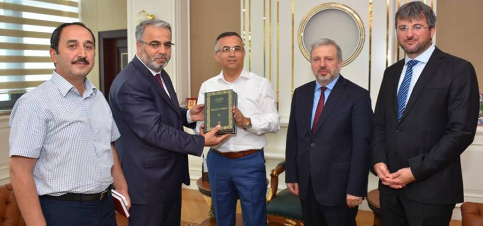 Diyanet İşleri Başkan Yardımcısı Dr. İşliyen, Vali Çeber'i ziyaret etti