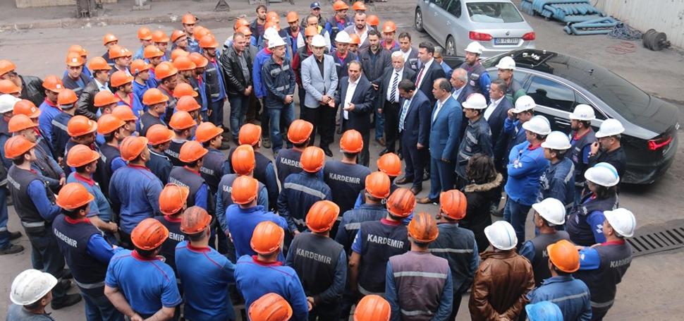 Çelik-İş Sendikası'ndan ABD'ye tepki, Hükümete destek açıklaması