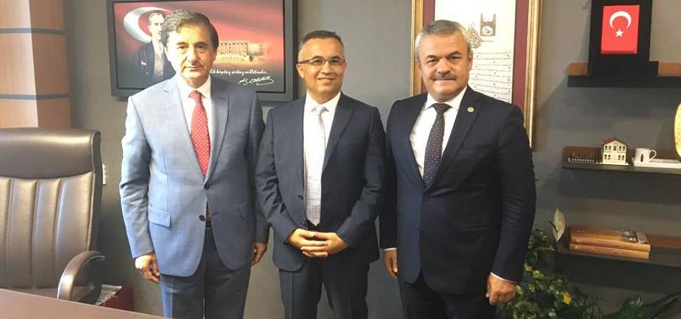 Vali Çeber, AK Parti MilletvekilleriNİ ziyaret etti