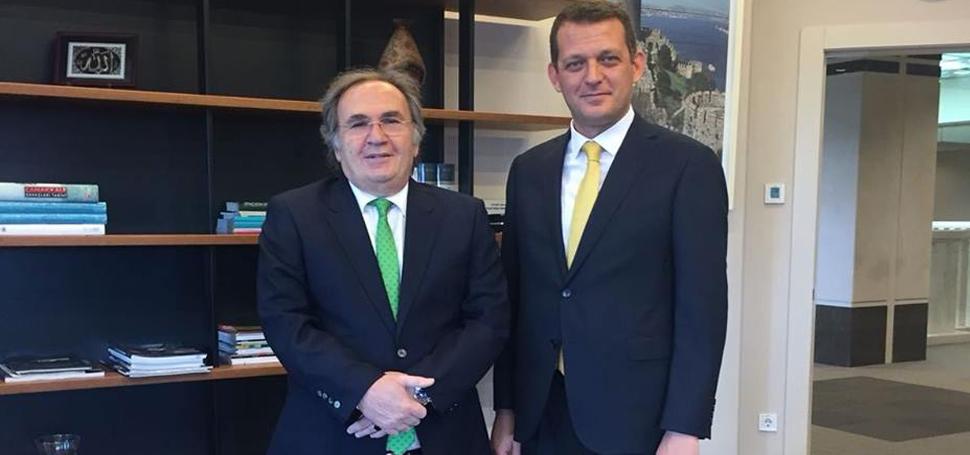 Ürkmezer, Cumhurbaşkanı Başdanışmanı Saraçoğlu'nu Ziyaret Etti