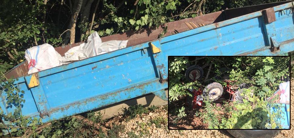 Bakırcılar Köyü Traktör Kazası