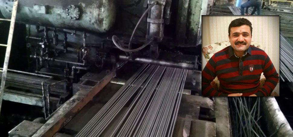 Karabük'te iş kazası: 1 ölü