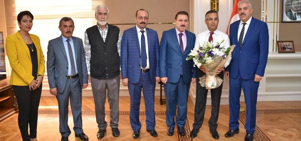 Vali Çeber'e Ahilik Haftası ziyareti
