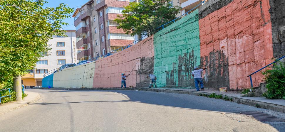 Karabük Belediyesi Karabük'ü Renklendiriyor