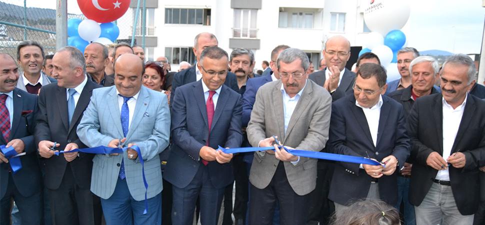 Belediye Evleri Parkının Açılışı Yapıldı