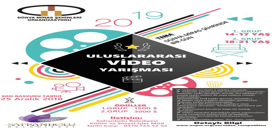 Uluslararası Video Yarışmasında Kayıtlar Başladı