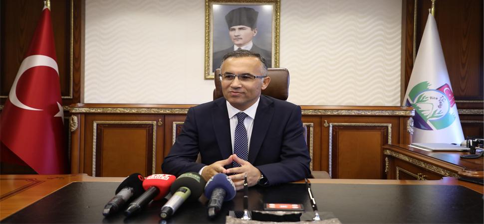 Vali Kemal Çeber göreve başladı