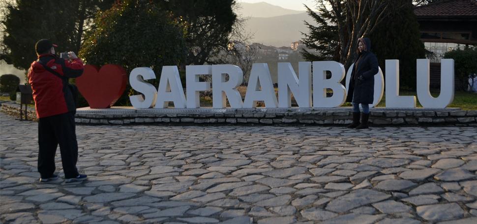 Safranbolu'ya yılbaşı ilgisi