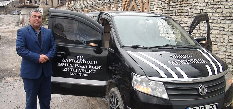 İsmet Paşa Mahallesine mobil araç hizmeti