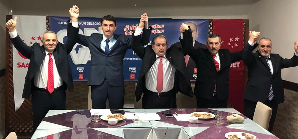 SP'de Safranbolu'da Orhan Gökmen Belediye Başkan Adayı