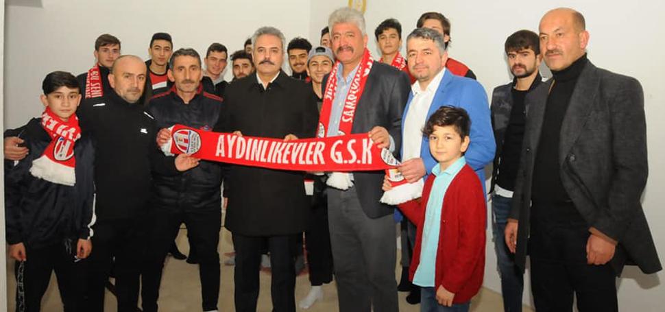 """""""AMATÖR SPOR KULÜPLERİNE HER TÜRLÜ DESTEĞİ VERECEĞİZ"""""""
