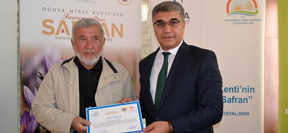 """""""Dünya Miras Kenti'nin Kırmızı Altını Safran"""" projesi"""